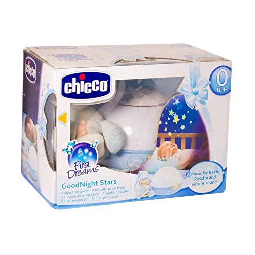 Chicco Goodnight Stars Soft Musical Nightlight - Blue
