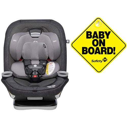 Best Price! Maxi-Cosi Magellan Max XP Convertible Car Seat - Nomad Black with Baby on Board Sign