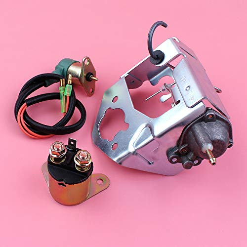 Replacement Parts, Choke Valve Damper Starter Relay Solenoid for Gx390 13Hp Gx 390 Generator Engine