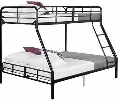 Amazon Com New Metal Twin Over Full Bunk Beds Ladder Kids Teens