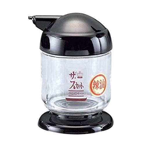 アズワン ザ・スカット スパイスシリーズ2 ラー油入れ(ミニ) 黒/61-6824-70