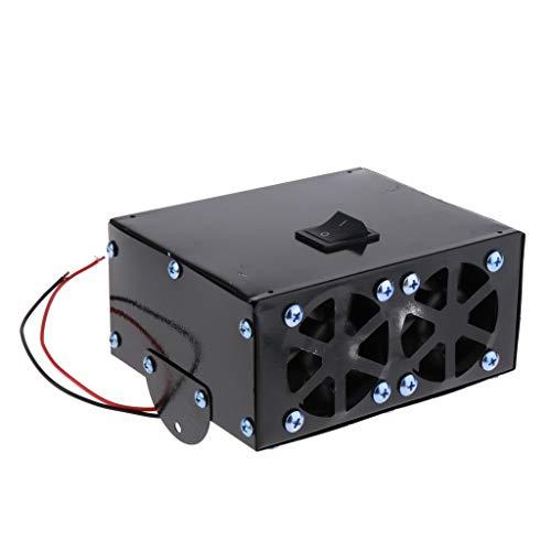 Shiwaki 12V 500W Coche Calentador Auto Calefactor Calefacción Ventilador Ventana Desempañador