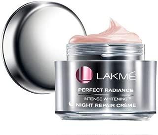Lakme Perfect Radiance Intense Whitening Night Repair Creme(50 G) By Dodo Store
