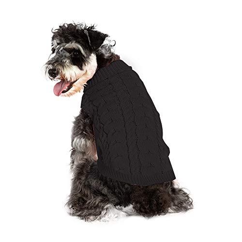 MEROURII Haustier Hund Pullover, Warme Hunde Pullover für kleine mittelgroße Hunde Haustierpullover