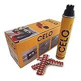 CELO 922800XHA 922800XHA-Clavo de Acero XHA para clavadoras a Gas Force One Longitud 22 mm (Envase...