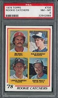 1978 rookie catchers 708