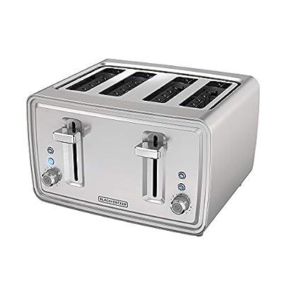 BLACK+DECKER TR4900SSD Black & Decker Toaster, 4 slice, Stainless Steel