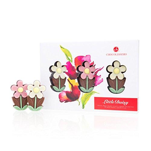 3 Little Daisy - Blumen aus Schokolade | Schokoblumen | Schokoblume | Geschenkidee | Frau | Mann | Geschenke | Erwachsene | Kinder | Mitbringsel | Frauen | Männer | Weihnachten | Muttertag | Frauentag