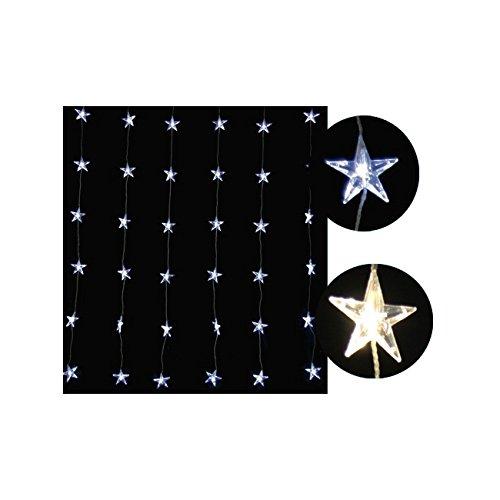 Giocoplast Natale Tent 36 Stars Led Transparant Kabel, Wit