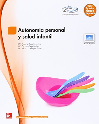 AUTONOMIA PERSONAL Y SALUD INFANTIL GS - 9788448184414