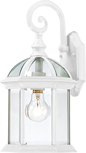 Trans Globe Lighting 4181 WH Outdoor-Post-Lights, White