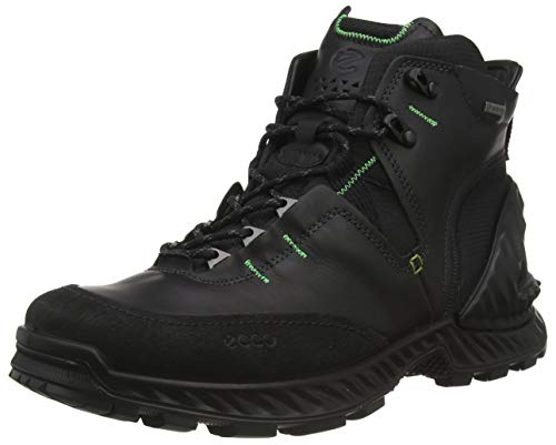 Ecco Herren EXOHIKEM Trekking- & Wanderstiefel, Schwarz (Black/Black 51052), 45 EU
