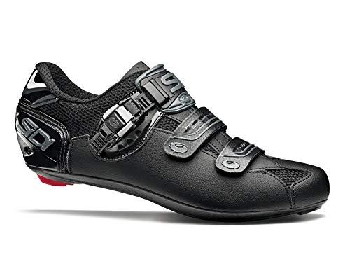 Sidi Scape Herren-Fahrradschuhe Genius 7, Schwarz Shadow, 38
