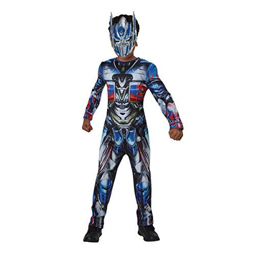 Transformers - Disfraz Optimus Prime, 5-7 años (Rubie'S Spain 630995-M)