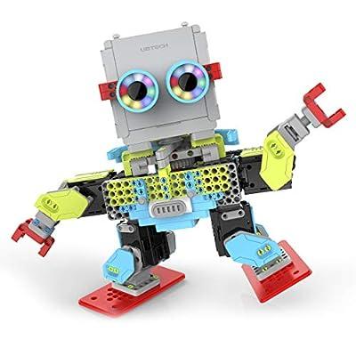 Jimu Robot MeeBot 2.0 App-Enabled Building and Coding STEM Robot Kit (390 pcs)