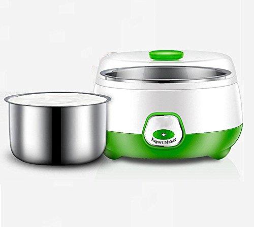 HSR Portable Electric 1L Automatic Yogurt Maker (Multicolour)