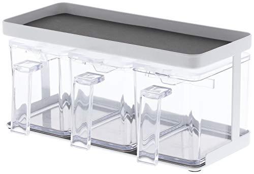 Yamazaki Boîte Plastique Blanc Taille Unique