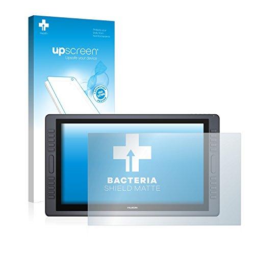 upscreen Protector de Pantalla Mate Compatible con Huion Kamvas Pro 22 Película Protectora Antibacteriana - Anti-Reflejos, Anti-Huella