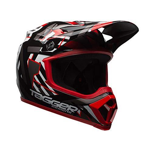 Bell Helmets Herren BH 7080784 Bell 2017 MX-9 MIPS Helm für Erwachsene Black/Red,...