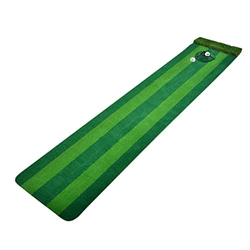 Min Golf Mat-Indoor Golf Putting Putting Coperta Multi-Track per Bambini Golf Coach 2 Colori Opzionale Materiali didattici da Golf (Color : A)