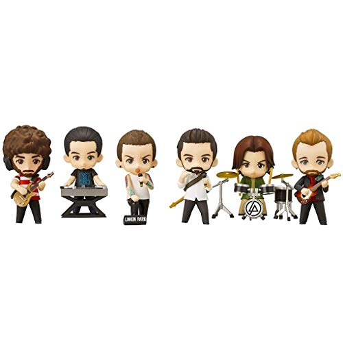 OOXX Linkin Park Figure Chibi PVC Q Version Nendoroid[Set of 6] Art