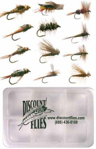 Most Effective Dozen Trout Flies + Fly Box