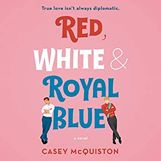 Red, White & Royal Blue audiobook cover art