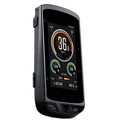 KUANDARGG Prenda Impermeable Inalámbrica del Ordenador De Ciclo De GPS, Ordenador Elegante De La Bici De La Cámara con El Tenedor, Xplova X5 EVO