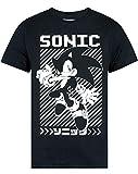 Sonic The Hedgehog Japanese Poster Men's T-Shirt