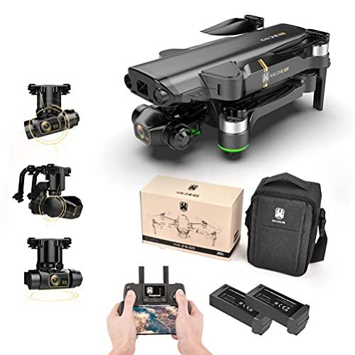 8K GPS Drone con Telecamera HD, Drone Professionale con Stabilizzatore 3 Assi, Mini Drone con Motore Brushless, Quadricottero Pieghevole, Autonomia 50 Minuti, 50x Zoom 2 batterie