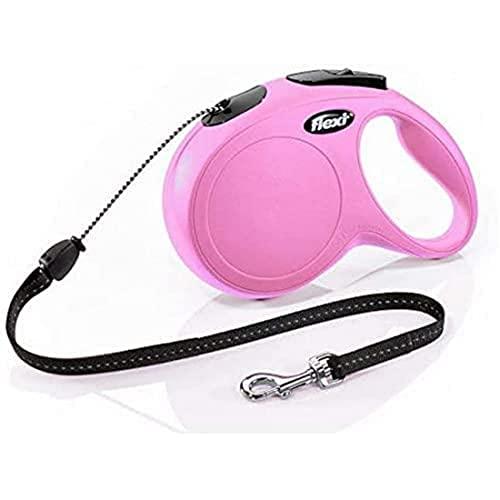 flexi New Classic M Seil 8 m pink für Hunde bis 20 kg