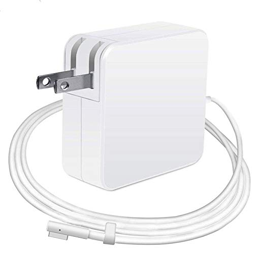 Mac Book Pro Charger Replacement 85W L-Tip Power Adapter Magnetic Compatible for Mac Book Pro 15-Inch and 17-inch (Before Mid 2012)