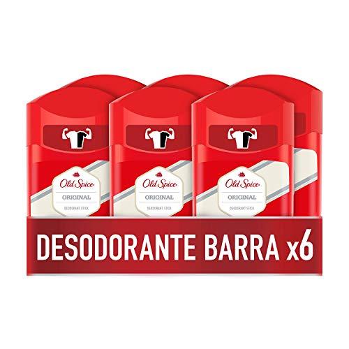 Old Spice Original Desodorante en Barra para Hombres 50 ml,