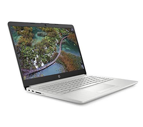 HP 14-cf2518sa Laptop, Intel Pentium Gold 6405U (2.40GHz), 4GB, 128GB, Windows 10 Home, Silver