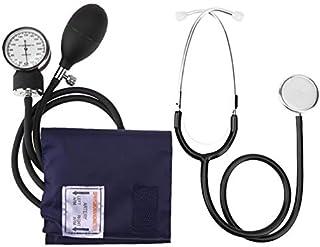 SISHUINIANHUA Esfigmomanómetro Brazo Manual Indicador de presión sanguínea con el Estetoscopio Health Monitor de Dispositivos monitores Cuidado de la Salud