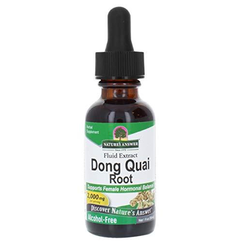Nature's Answer, Dong Quai (Angelica Sinensis), Alkoholfrei, 1000 mg, 30 ml