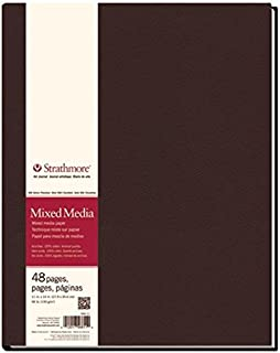 Strathmore (566-11 STR-566-11 48 Sheet No 90 Mixed Media Art Journal, 11 by 14