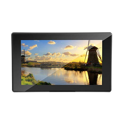 01 IPS Touch Screen LCD, 3.5mm Audio Jack, 6H Hardness Sturdy Finished Touch Screen LCD Display Home for Computers for Travel TV Boxes