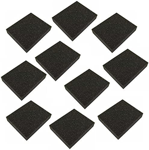 10 piezas de filtro de aire de jardín apto para Stiga Castel Mountfield Stiga SV150 SV40 RV45 484 R484 18550011 118550010 1111-9152-01 Exquisito