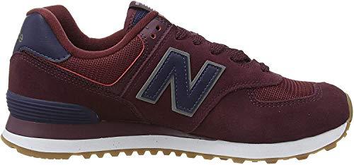 New Balance Herren 574v2 Sneaker, Rot (Red/Navy Spq), 41.5 EU