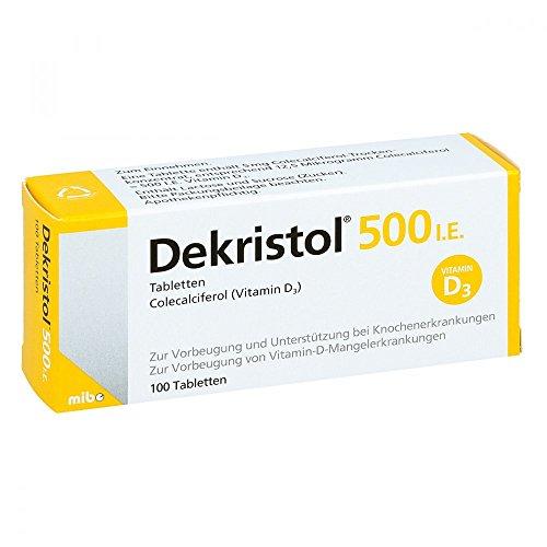 Dekristol 500 I.E, 100 St. Tabletten
