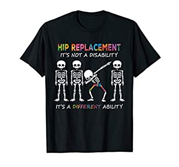 total Hip Replacement recovery kit gift New Joint Surgery T-Shirt