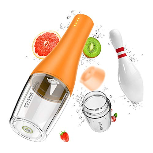 TYI -Portable Blender, Personal Juicer Cup for Milkshakes and Smoothies, 4 Blades, 12Oz Fruit Blender with 4000Mah USB Rechargeable Battery, Detachable, Shake at Any Time