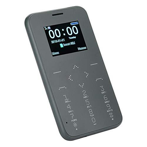Dual Sim Basic Teléfono móvil simple, Tarjeta para tomar fotografías Tamaño de bolsillo Mini Niños Estudiante Bluetooth Teléfono móvil pequeño, Teléfono móvil Función Teléfono GSM Paga lo que(Verde)