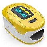 Zondan A3 - Saturimetro da dito - Ossimetro - Pulsossimetro - Lettura Immediata Ossigeno, Battiti e Onda Pulsazioni - Dispositivo Medico Certificato CE 0123