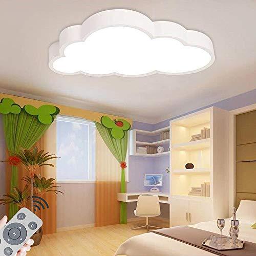 LED Techo de la nube 48w lámpara de techo para dormitorio cocina oficina guardería (48w regulable)