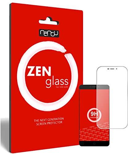 ZenGlass Flexible Glas-Folie kompatibel mit Elephone P9000 Panzerfolie I Bildschirm-Schutzfolie 9H