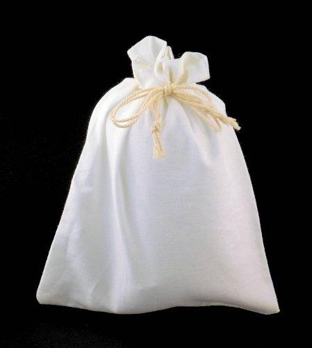 Baumwollsäckchen gross 50 Stück - 15 x 20 cm - Baumwollbeutel Säckchen Beutel aus Baumwolle Baumwollsack Leinen Leinensäckchen Leinenbeutel