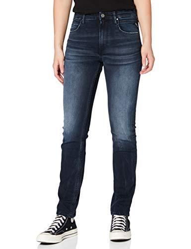 Replay Damen JACKSY Straight Jeans, Light Blue 10, 25W / 34L
