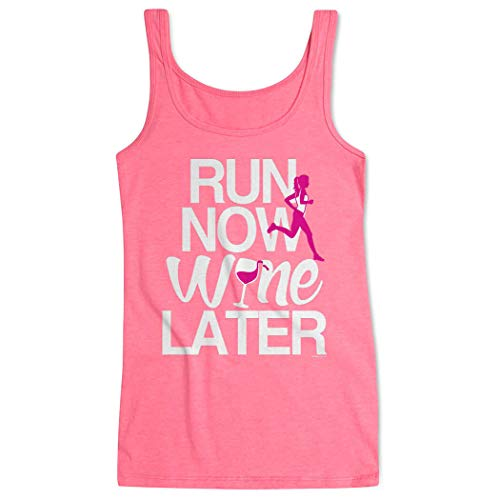 Gone For a Run Womens Running Tank Top | Run Now Wine Later (Bold) Multiple Sizes and Colors